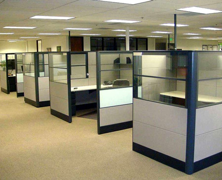 commercial partition cleaning